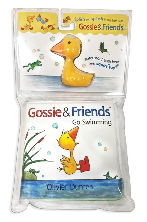 Gossie Amp Friends Go Swimming Bath Book With Toy