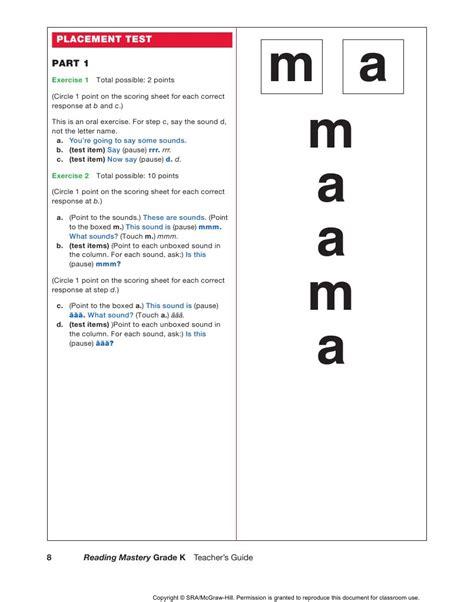 Grade 1 Mastery Placement Test (ePUB/PDF) Free