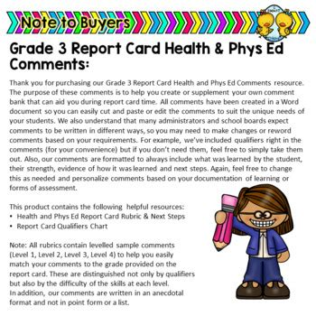 Astounding Grade 3 Physical Education Report Card Comments Epub Pdf Wiring 101 Cranwise Assnl