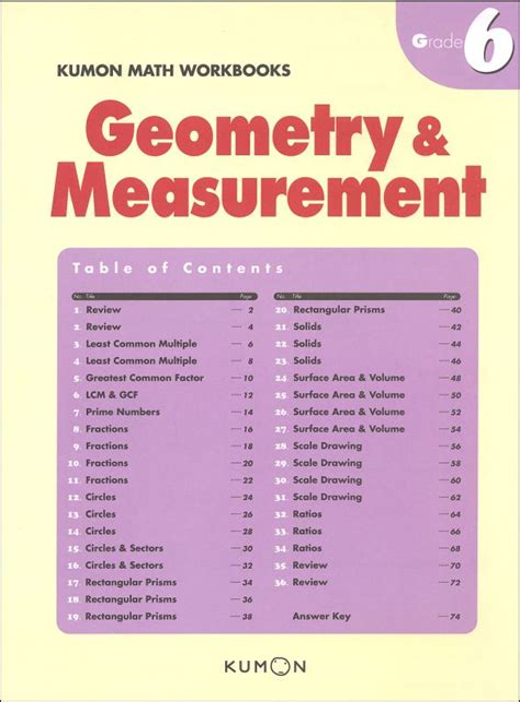 Grade 7 Geometry And Measurement Test (ePUB/PDF) Free
