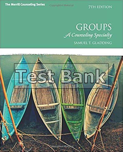 Groups A Counseling Specialty 7th Edition