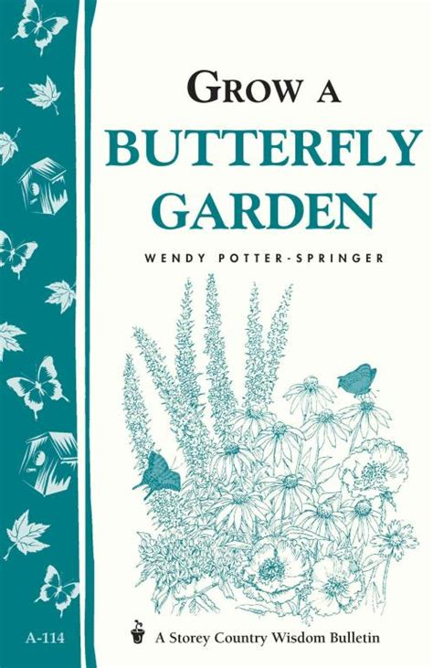 Grow A Butterfly Garden Potter Springer Wendy (ePUB/PDF) Free