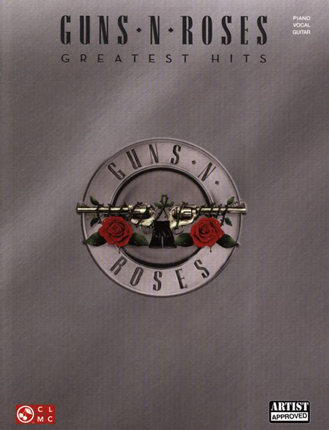 Guns N Roses Greatest Hits Pianovocalguitar