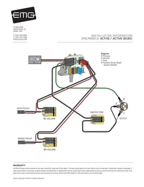 H2a Emg Pickup Wiring Diagrams (ePUB/PDF)
