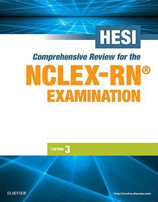 HESI Comprehensive Review For The NCLEXRN Examination
