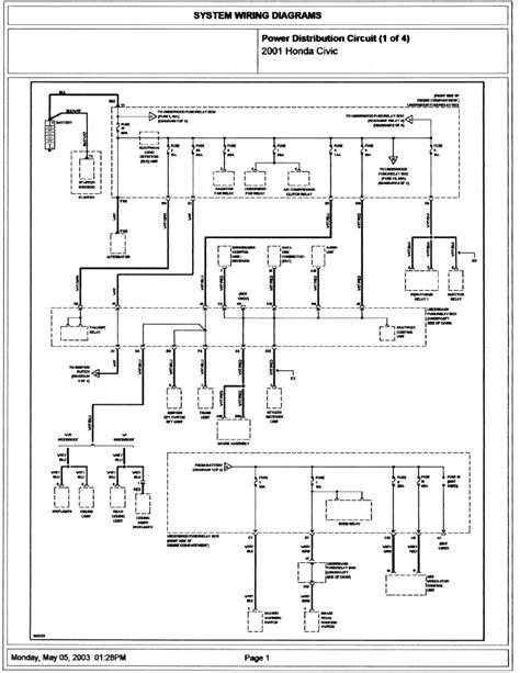 honda civic stereo wiring diagram images honda accord wire honda civic 2001 2003 wiring diagram club civic quebec