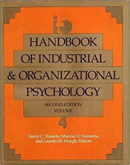 Handbook Of Industrial And Organizational Psychology Vol 3 Handbook Of Industrial And Organizational Psychology 2nd Ed