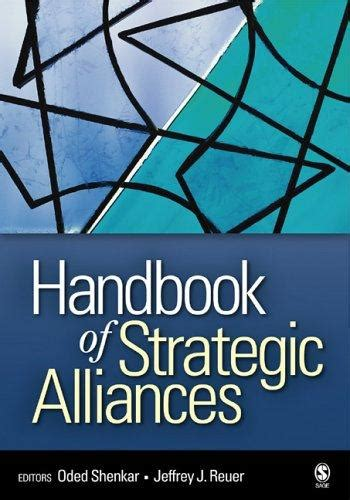 Handbook Of Strategic Alliances