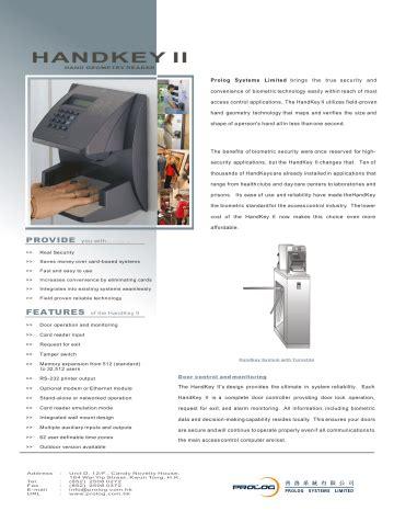 Handkey Ii Manual (ePUB/PDF)