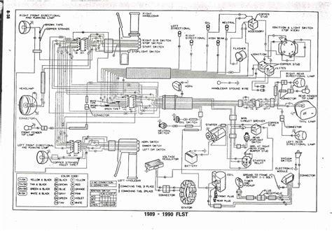 on harley davidson fxstc wiring schematic