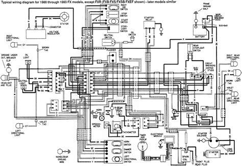 Harley Fxr Wiring Diagram 1999 (Free ePUB/PDF)