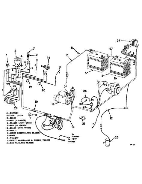 harvester electric motor wiring diagram