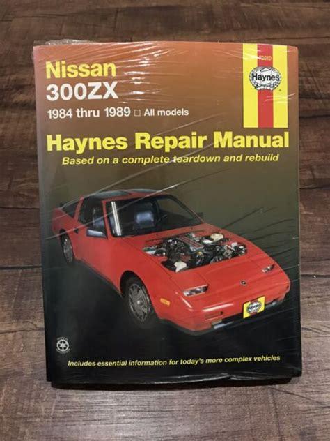 Haynes Repair Manual Nissan 300zx (ePUB/PDF)