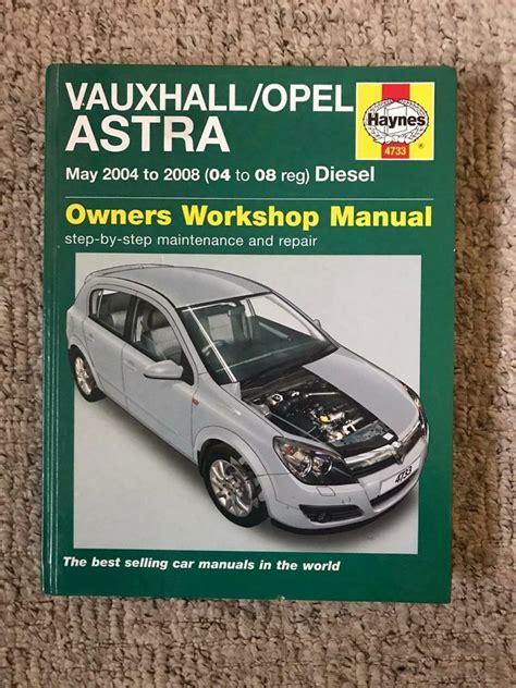Haynes Repair Manual Vauxhall Astra 2001 (ePUB/PDF) Free