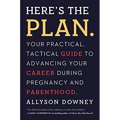 Heres The Plan Your Practical Tactical Guide To Advancing Your Career During Pregnancy And Parenthood
