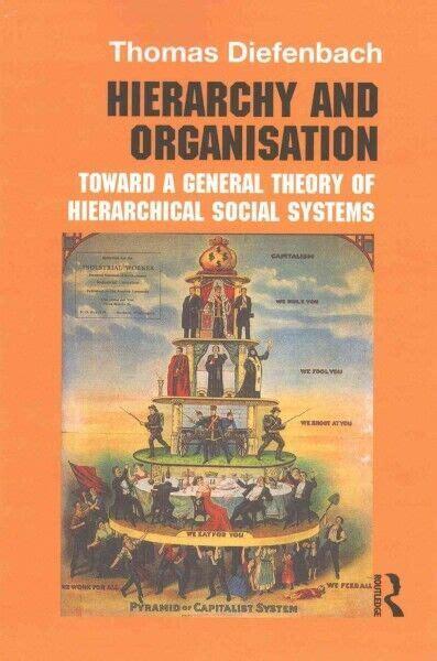 Hierarchy And Organisation Diefenbach Thomas (ePUB/PDF)