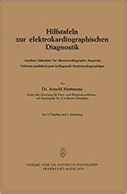 Hilfstafeln Zur Elektrokardiographischen Diagnostik Huttmann Arnold