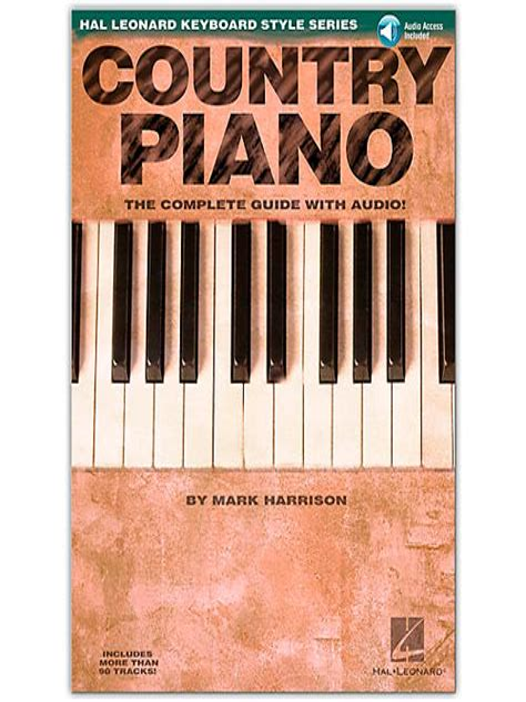Hl Keyboard Style Country Piano Harrison Bk Cd Songbook Fur Klavier
