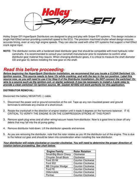 Holley User Manual (ePUB/PDF)