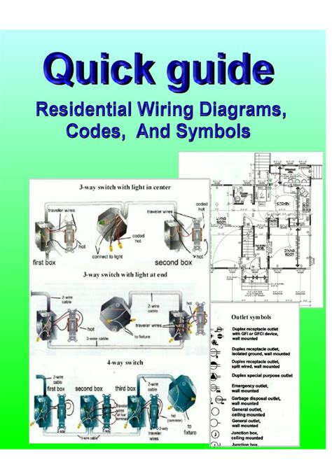 Home Electrical Wiring Diagrams Schematic (ePUB/PDF) on