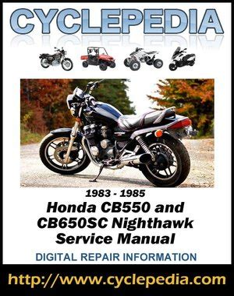 Honda Cb550 Nighthawk Repair Manual (ePUB/PDF)