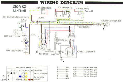 Honda Z50 K2 Wiring Diagram (Free ePUB/PDF) on