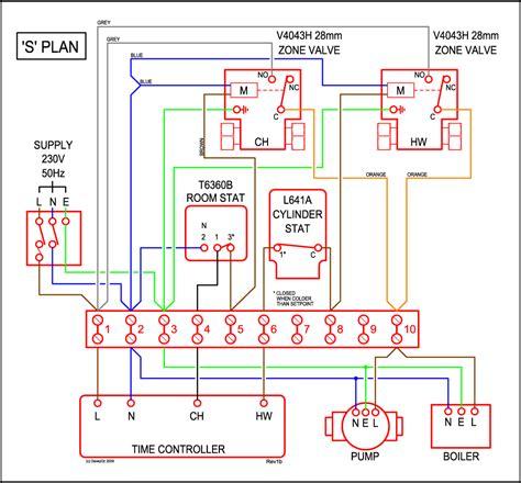s plan wiring diagram honeywell honeywell s plan wiring diagram  honeywell s plan wiring diagram