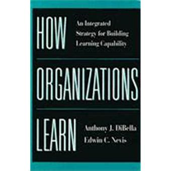 How Organizations Learn An Integrated Strategy For Building Learning Capability