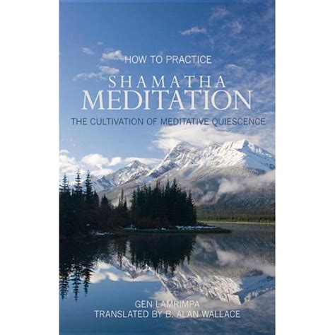 How To Practice Shamatha Meditation The Cultivation Of Meditative Quiescence