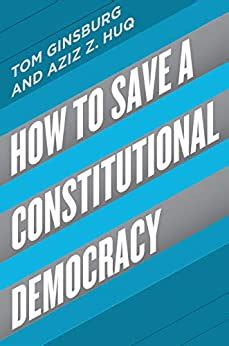 How To Save A Constitutional Democracy English Edition