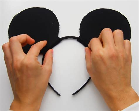 How to Make Mickey Mouse Ears 12 Steps with Pictures