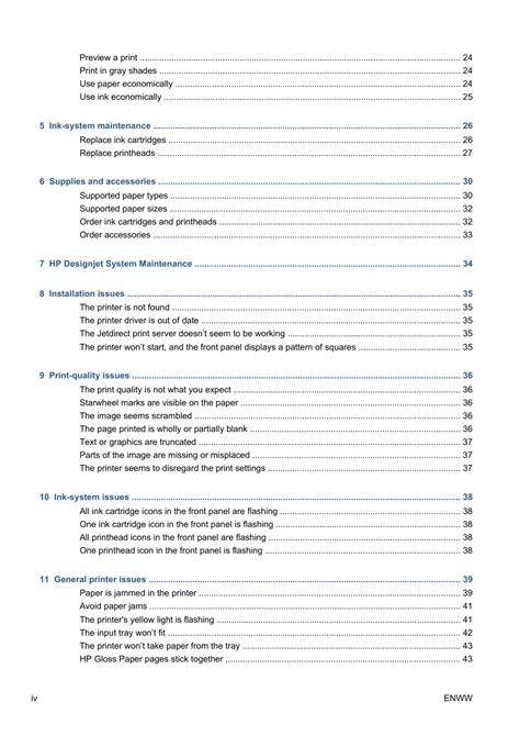 Hp Designjet 111 User Manual (ePUB/PDF)