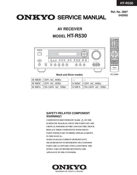 Ht R530 Manual (ePUB/PDF) Free