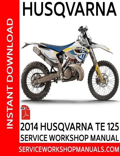 Husqvarna 125 Repair Manual (ePUB/PDF)