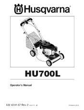 Husqvarna Hu700l Manual (ePUB/PDF) Free