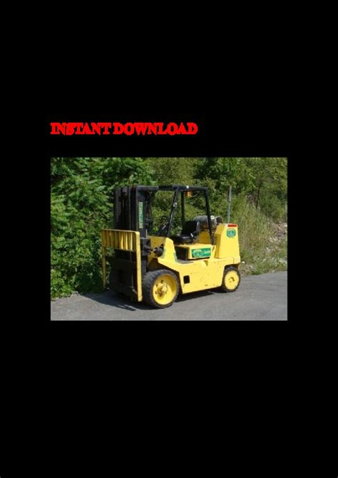 Hyster B024 S135 S155xl2 S6 00 7 00xl Forklift Parts Manual