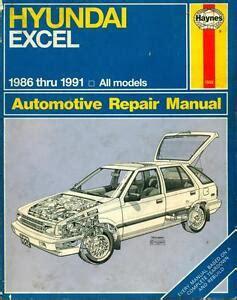 Hyundai Excel Repair Manual (ePUB/PDF) Free