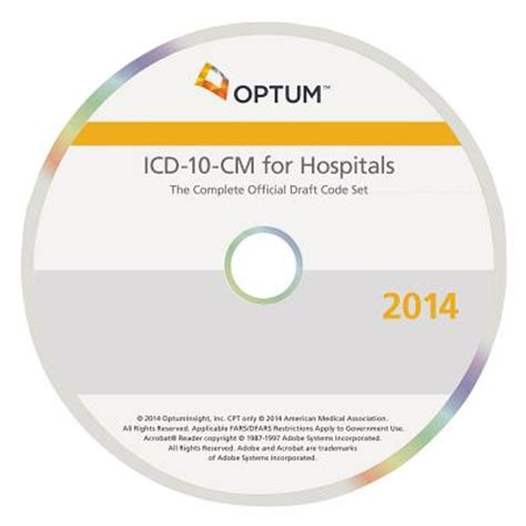 ICD10CM Hospitals The Complete Official Draft Code Set 2014
