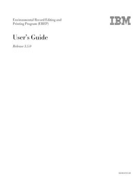 Ibm Erep Manual (ePUB/PDF)