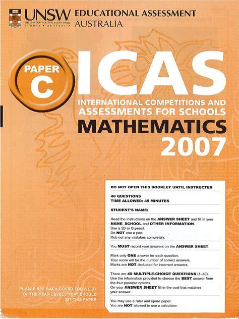 Icas Pdf (ePUB/PDF) Free