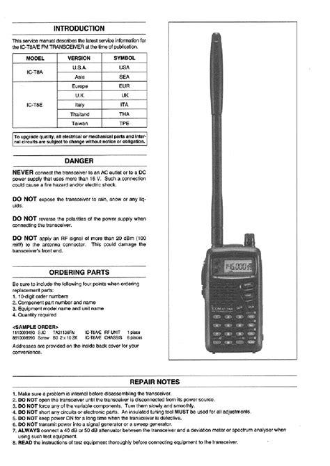 Icom Ic T8a Manual (ePUB/PDF) Free