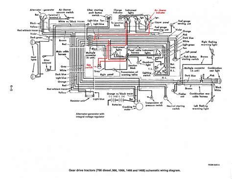 ih 784 wiring diagram