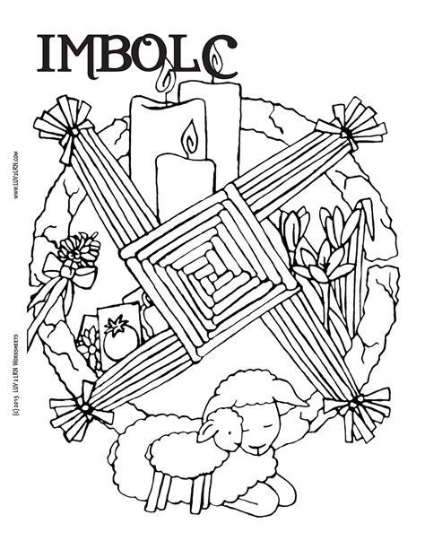 Imbolc Pagan Sabat's Coloring Pages