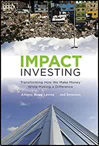 Impact Investing Transforming How We Make Money While Making A Difference