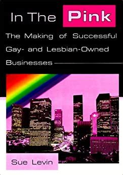 In The Pink The Making Of Successful Gay And Lesbian Owned Businesses By Sue Levin 1998 12 21