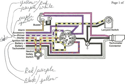 inboard boat wiring diagram