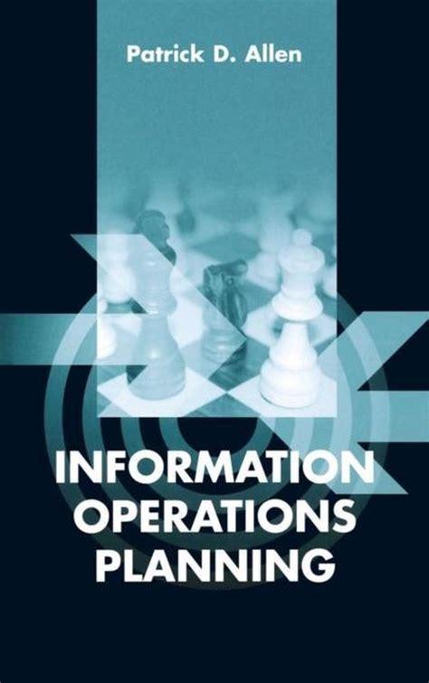 Information Operations Planning Patrick Allen (ePUB/PDF)