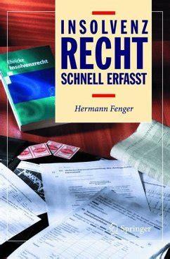 Insolvenzrecht Schnell Erfasst Fenger Hermann (ePUB/PDF) Free