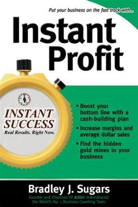 Instant Profit Instant Success Series Successful Strategies To Boost Your Margin And Increase The Profitability Of Your Business