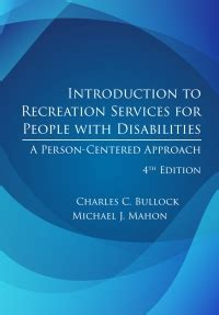 Introduction To Recreation Services For People With Disabilities 4th Ed A PersonCentered Approach